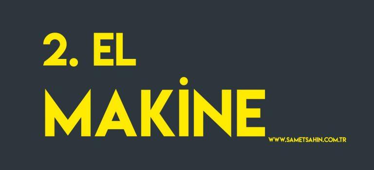 2.el_makine