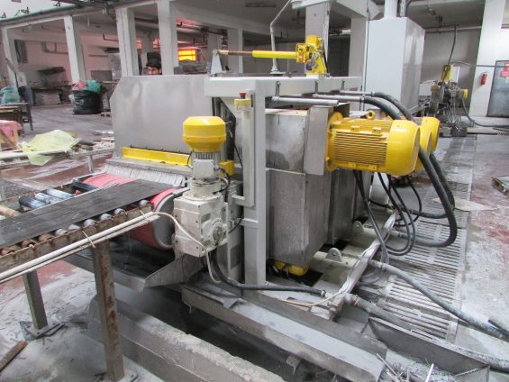 multidisc cutting machine for ceramic