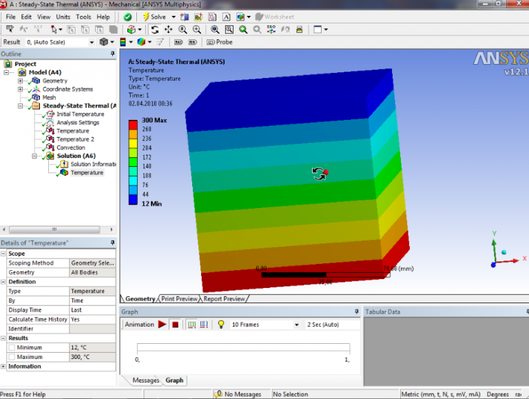 Ansys_Workbench-Steady_State_Thermal